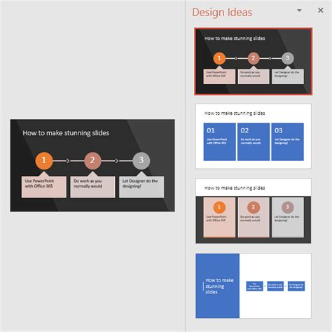 design ideas powerpoint create professional slide layouts with powerpoint designer