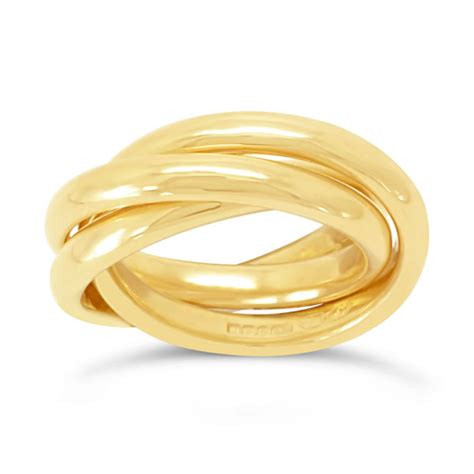 russian wedding ring 18ct yellow gold pruden and smith