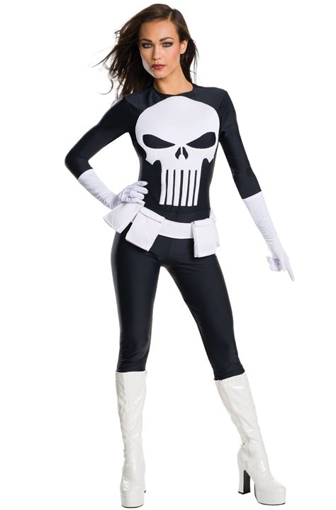 marvel punisher female adult costume purecostumescom