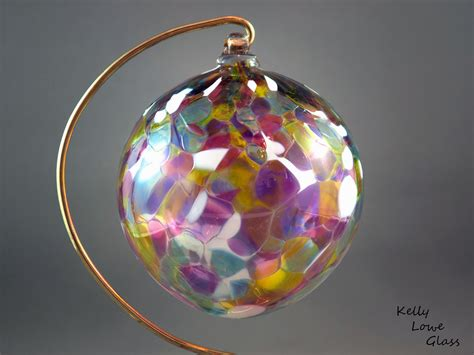 Handmade Ornaments - traditional blown glass ornament