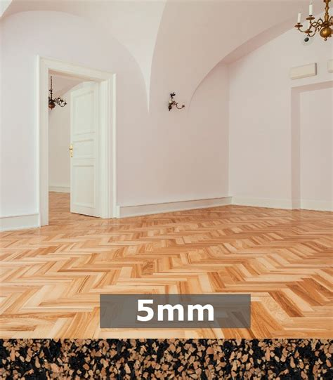 acoustic underlayment for hardwood floor regupol acoustic underlay k225 5mm for timber parquetry