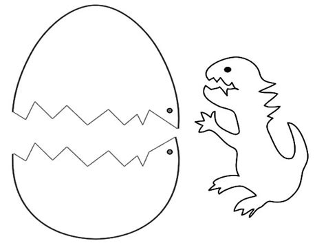 Dinosaur Egg Coloring Page cracked eggs coloring pages coloring pages