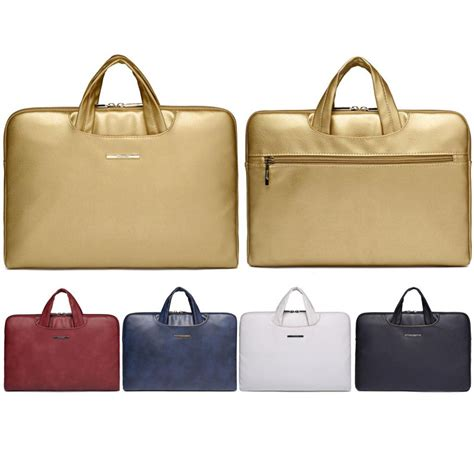 New Leather Bag Szb 13 luxury new 13 14 15 15 6 inch leather laptop notebook sleeve bag handbag