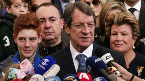 cyprus votes in close presidential run off daily times