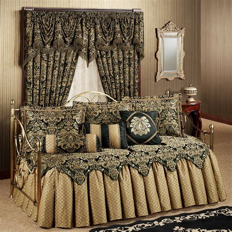 imperial ruffled flounce daybed bedding set