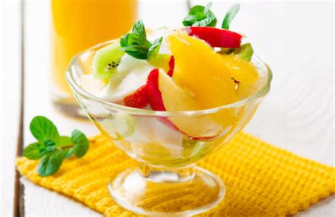 fruit yogurt salad fresh fruit salad with honey yogurt dressing recipe