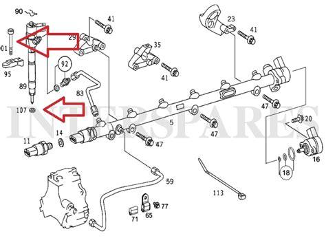 Seal Vc 28x40x5 Tto Vc 28 00 40 00 5 00 Tto diesel injector shims 6 holder screws mercedes w204 w211 w212 x164 w251 w221 ebay