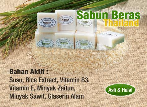 Sabun Untuk Memutihkan Kulit paket pemutih thai dan sabun beras thailand