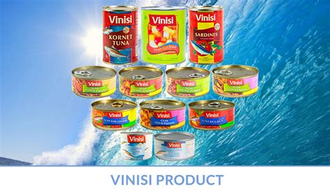 Vinisi Tuna Kari Cepokak 130g pt medan tropical canning frozen industries eksportir