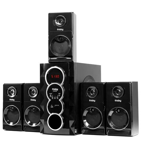 frisby fs bt  surround sound home theater speakers