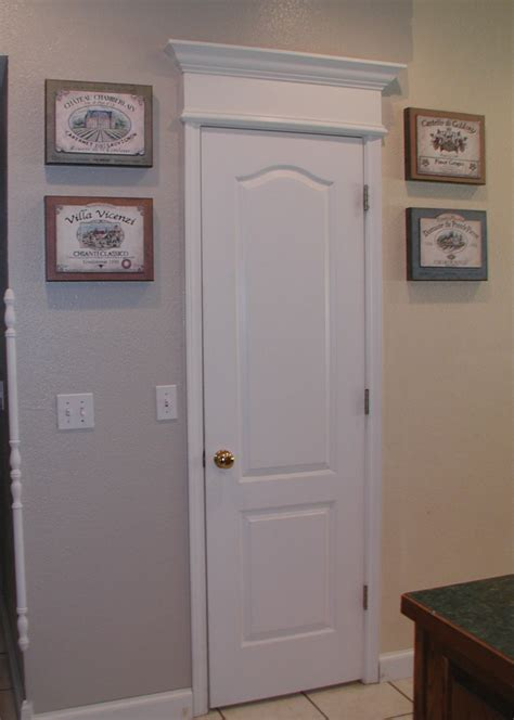Pantry Closet Doors Project Cornice Of Crown Moulding Door Front Porch Cozy