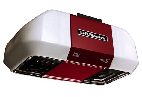 Liftmaster Garage Door Opener With Battery Backup Liftmaster 8550 Garage Door Opener Elite Series With Battery Backup For High Efficiency