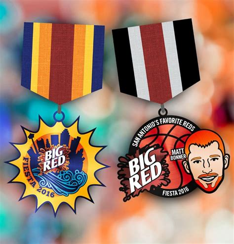 Fiesta Medals Giveaway - there s only 250 of these big red fiesta medals blogs san antonio current