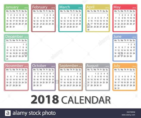 printable monthly calendar week starts monday almanac stock photos almanac stock images alamy