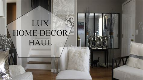 lux home decor lux decor haul home goods marshals ross youtube