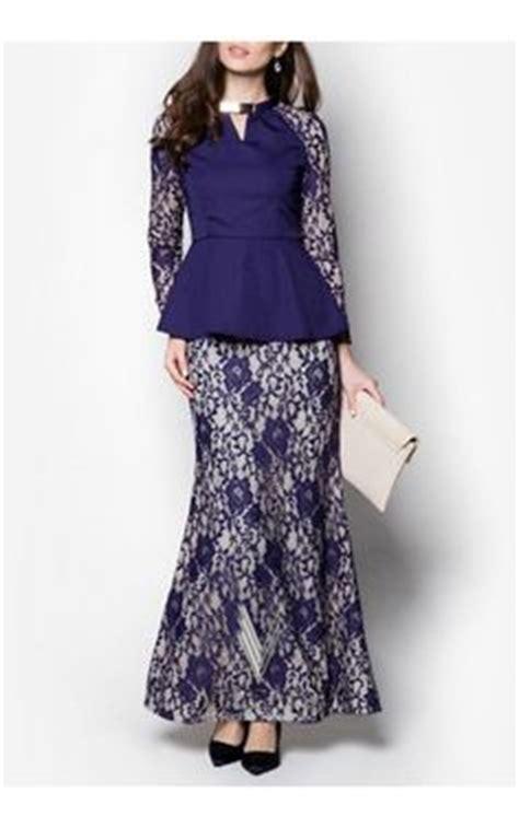 fesyen baju wanita dengan lace baju kurung moden lace minimalis baju raya 2016 fesyen