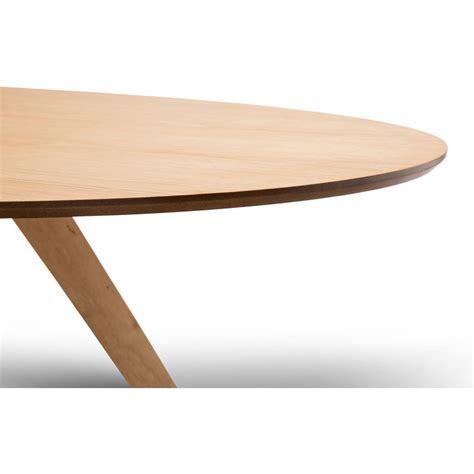 Scandinavian Oval Wooden Dining Table In Oak 1800mm Buy Wooden Oval Dining Table