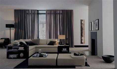 Hi Tech Living Room by Living Room Curtains The Best Photos Of Curtains Design