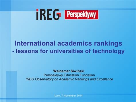 International Technological Mba Ranking by International Academics Rankings Lessons For