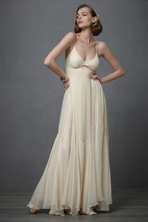 Wedding Dresses Ivory by Ivory Wedding Dress 2012 Bridal Gowns Bhldn Onewed