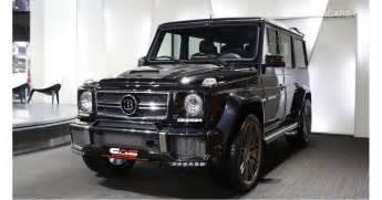 Mercedes Brabus For Sale Mercedes G 63 Amg Brabus 620 For Sale Black 2016