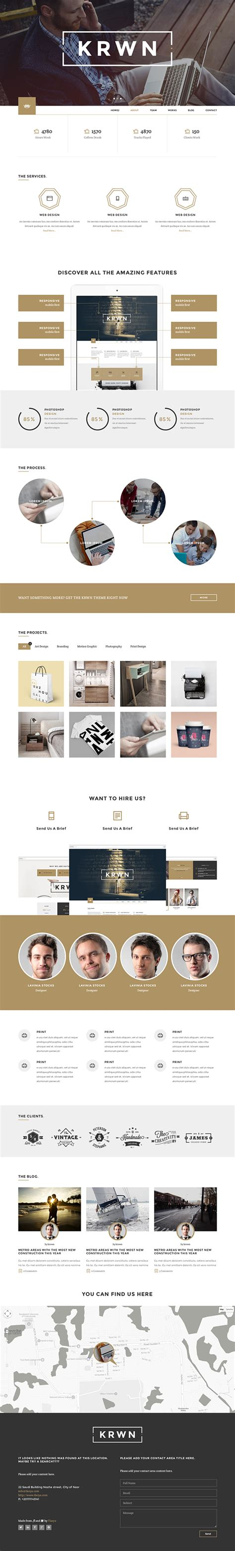 beowulf contains themes that are relevant to modern life krown responsive buniess wordpress theme on behance