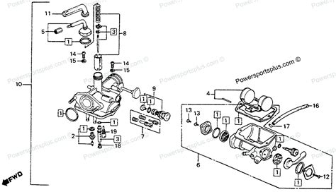 motorcycle parts diagram diagram of honda motorcycle parts 1976 ct90 a carburetor