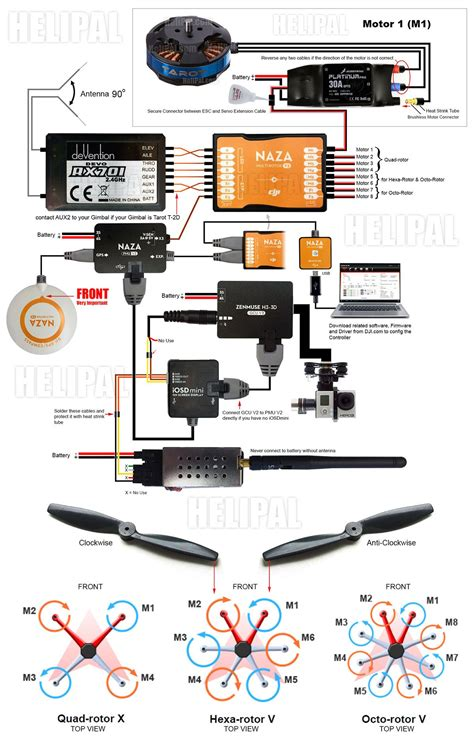 wiring diagram for a quadcopter inspiration beginners