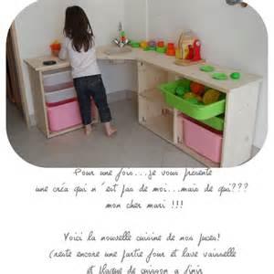 cuisine enfant en bois clic pique