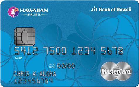 bank of hawaii credit card sign on hawaiian airlines bank of hawaii launch new mastercard