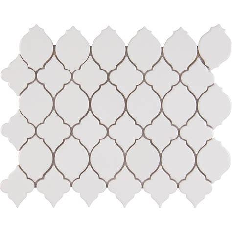 10 X 8 White Ceramic Tile - ms international denali 12 in x 12 in x 8 mm glazed