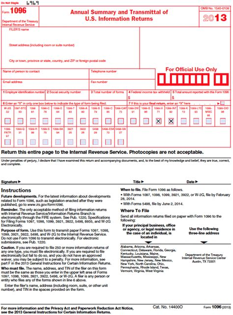 sle 1096 form filled out download 1096 form 2013 for free tidyform