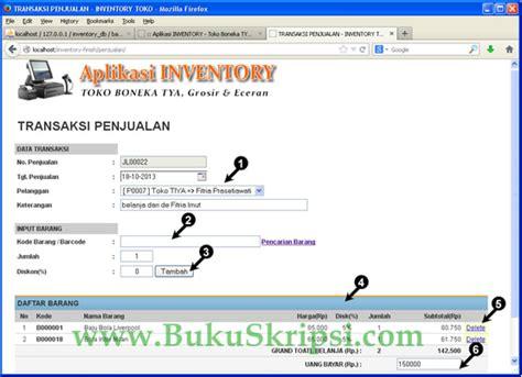 Membuat Aplikasi Web Dengan Php | panduan proyek membuat aplikasi web inventory toko dengan