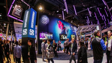 best ces the big booths of ces 2018 cnet