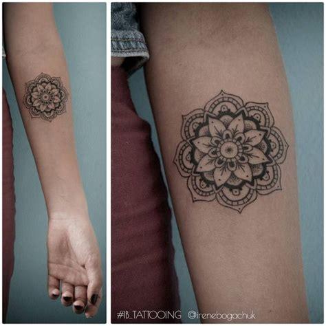 Mandala Tattoo Lower Arm | 40 mandala tattoos on forearm