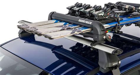 ski rack subaru subaru legacy rhino rack ski and snowboard carrier