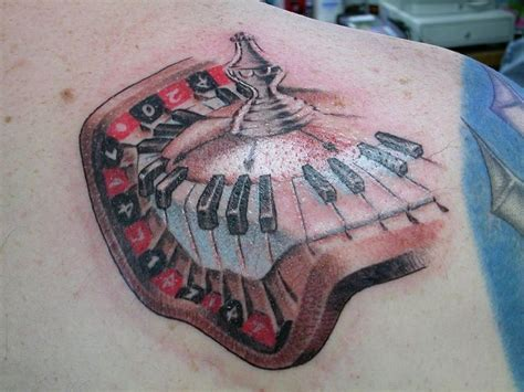roulette wheel tattoo designs 43 best tattoos images on