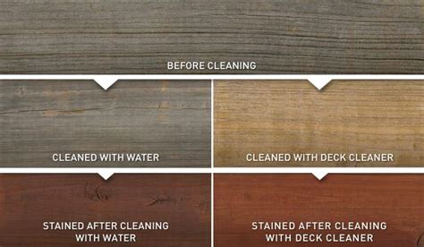 discover wood stain colors    deck