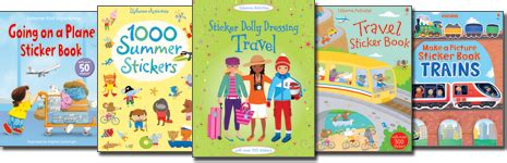 My World Sticker Book the best travel toys for fuss free flying