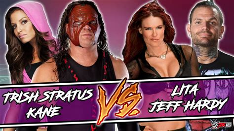 trish stratus jeff hardy trish stratus kane vs lita jeff hardy wwe 2k16 pc