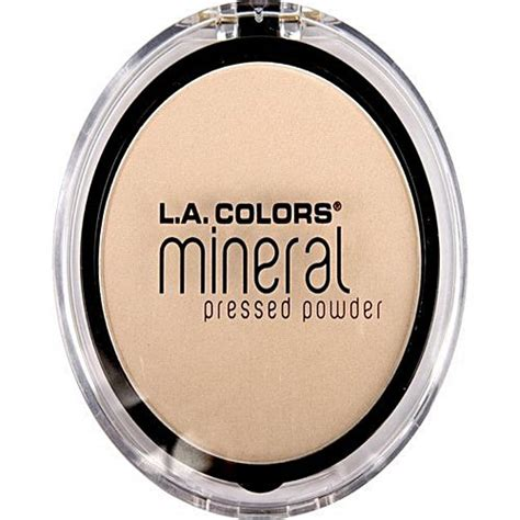 Powder Ivory Light l a colors mineral pressed powder light ivory buy