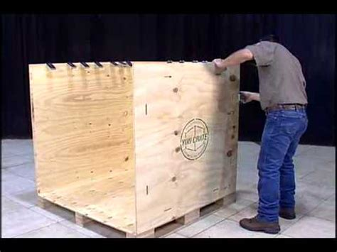 how to a not to in crate how to assemble and disassemble a you crate 174 shipping crate