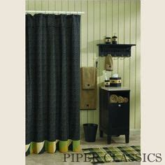 pin by april denkman on country primitive fabric shower curtains and primitives on pinterest