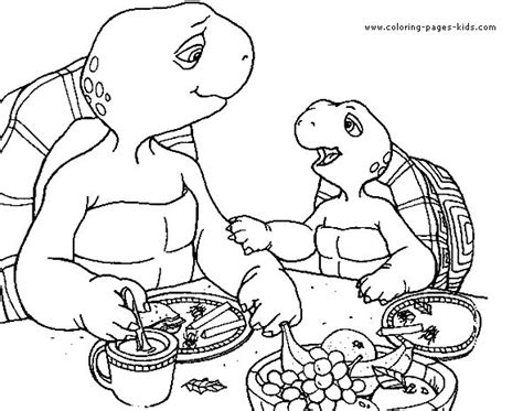 franklin the turtle coloring pages google search