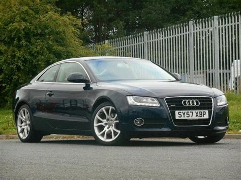 Used Audi A5 Coupe by Used Audi A5 2007 Blue Colour Diesel 3 0 Tdi Quattro Sport