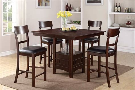 Bar Height Dining Table Chairs Terrific Bar Height Dining Table Set Designs Decofurnish