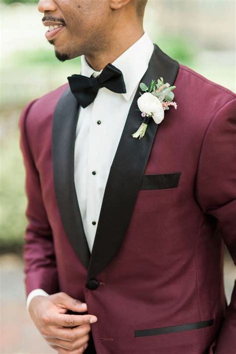 wine color tuxedo 11 burgundy suits for your wedding mens wedding style