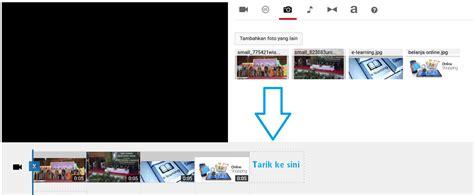 cara membuat youtube video cara membuat video slideshow dari foto dengan musik di