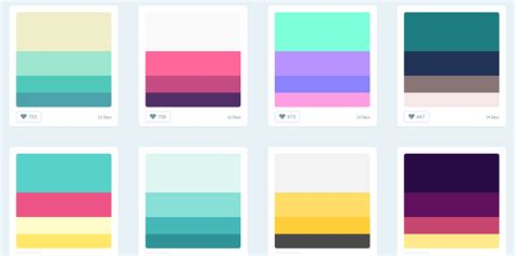 6 colour hunt color palette generator iconscout