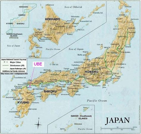 Ac Honshu map of japan